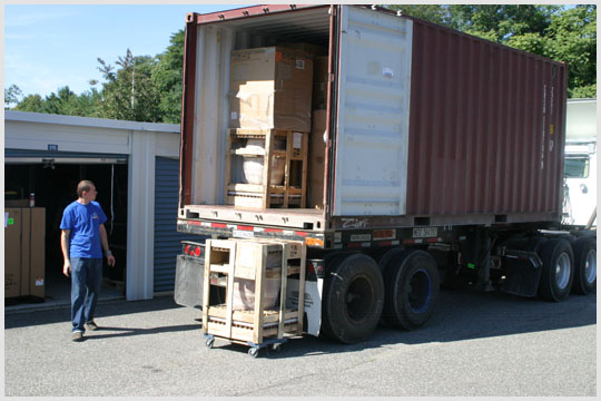 Moving Household Goods Overseas in Shipping Containers